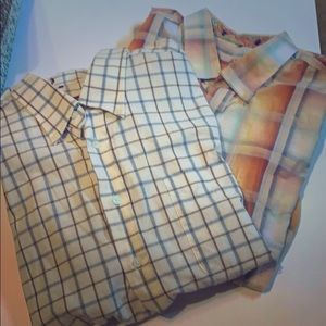 Alan Flusser Bundle 2 long sleeve button downs👻☠️